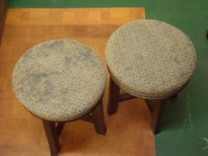 アンティーク丸椅子
